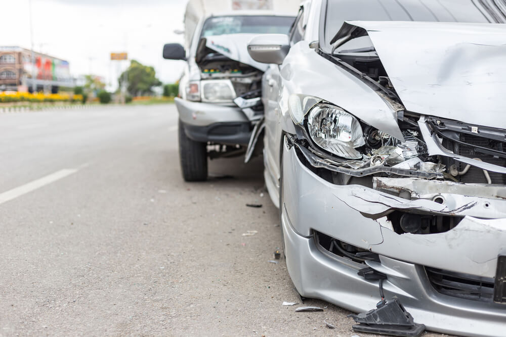 Who is liable for injures and damages in a car accident
