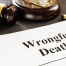 Wrongful death and filing its case